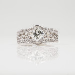 $2,900.00 950-01423 1.33ct princess